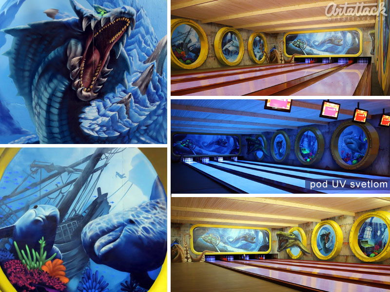 3d Maľba Na Stenu Artattack Sk