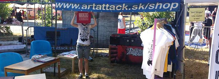 ArtAttack Shop na festivale: Pozri kto je na fotkách!