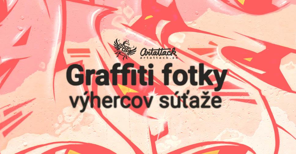 Graffiti fotky od výhercov súťaže