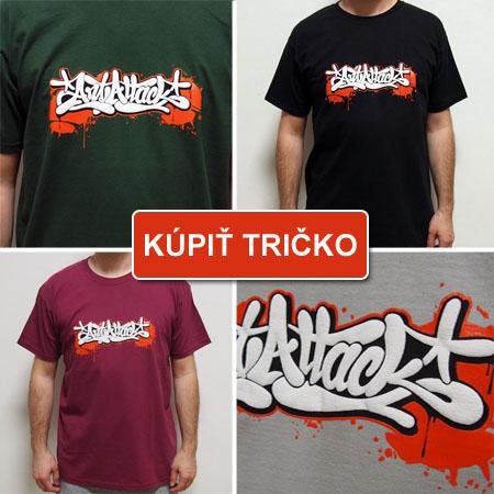 Kúpiť graffiti tričko ArtAttack