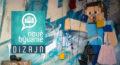 Nové Bývanie Dizajn: Grafity maľba do TV relácie